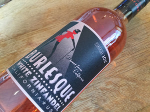 Burlesque Zinfandel Rose - Cellar Door Wines