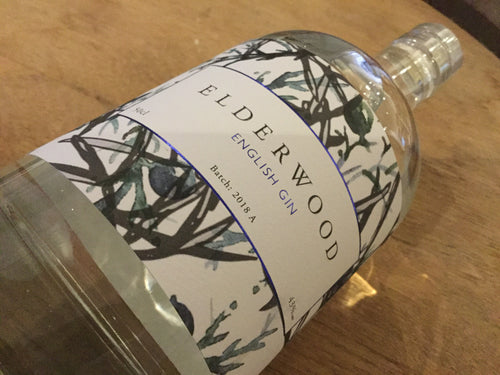 Elderwood English Gin 50cl