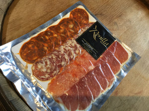 Pata Negra Cured Meat Sliced Mixed 200g