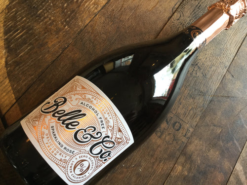 Belle & Co Rosé Brut Sparkling Wine 0% Alcohol