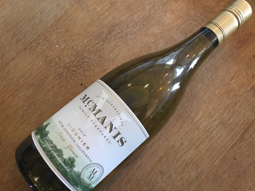 McManis Family Vineyards Viognier 2018