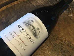 Auntsfield Single Vineyard Pinot Noir - Cellar Door Wines