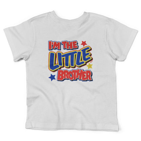 Lil Shirts Little Boys I'm The Little Brother Toddler Graphic Tee