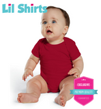 Lil Shirts Call Of Doody Funny Baby Bodysuit