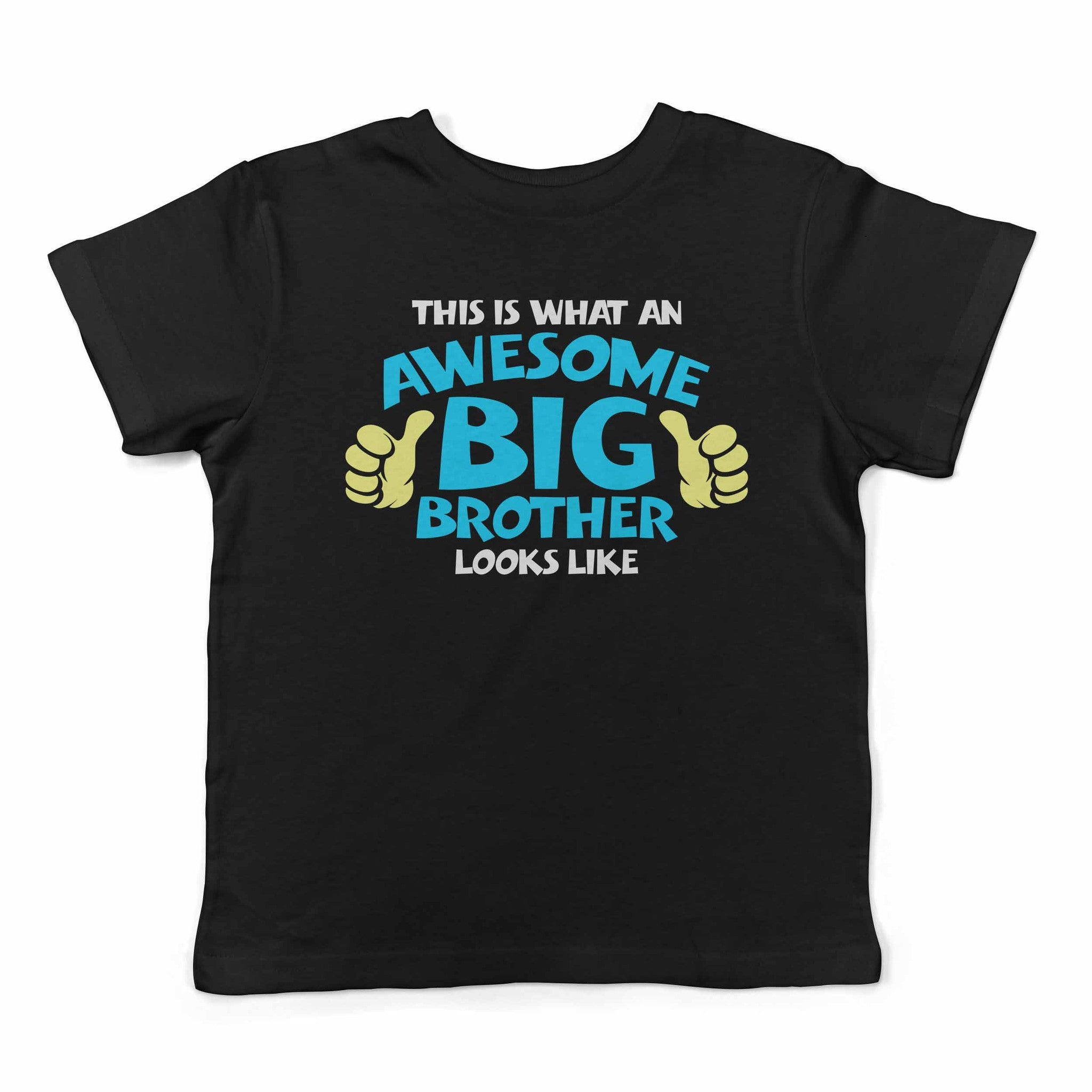 Lil Shirts Awesome Big Brother Toddler T-Shirt
