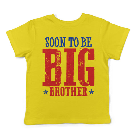 Lil Shirts Soon To Be Big Brother Youth T-shirt