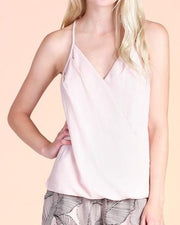 Sleeveless V Neck Blouse