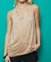 Patel sleeveless Top