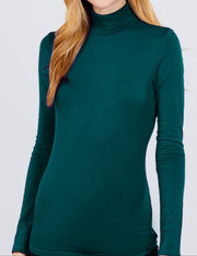 Lightweight Long Sleeve Turtleneck