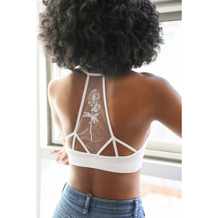 Flower Tattoo Bralette