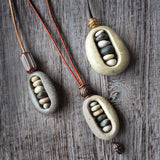 Michigan Stone Necklace | Michigan Made | Handmade