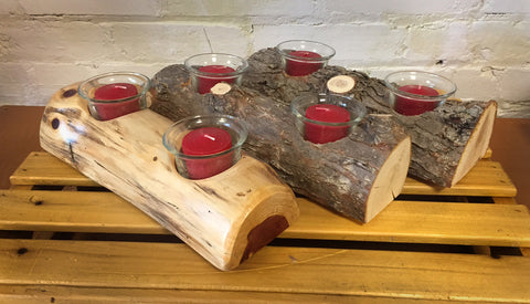 Michigan Tree Votive Candle Holder