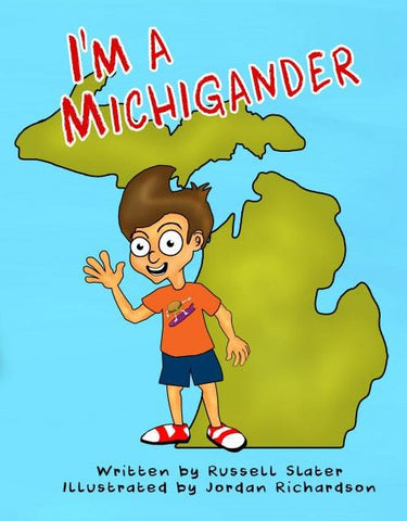 I'm A Michigander Children's Book