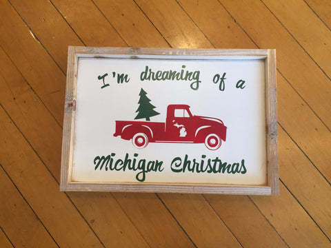 Dreaming of a Michigan Christmas!