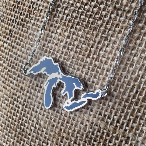 Great Lakes Necklace | Michigan Made