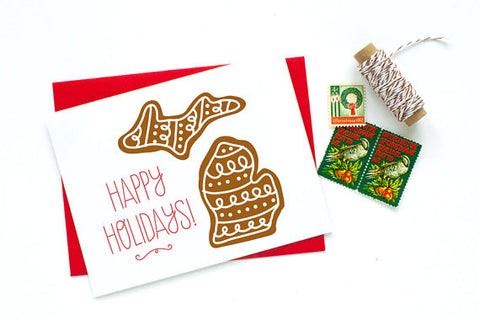 Mitten Holiday Cards