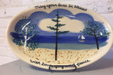 Michigan Scenery Plate