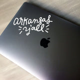 Arkansas Y'all - Car/Laptop Decal - [product type] - Hen Pen Paper Co