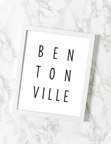 Bentonville Print - [product type] - Hen Pen Paper Co