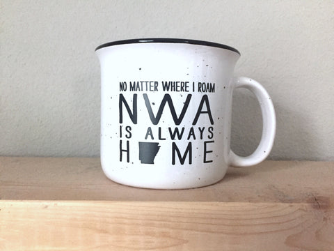 NWA is always home Coffee Mug - [product type] - Hen Pen Paper Co