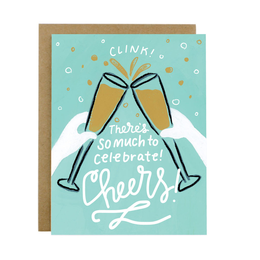 Cheers Card - [product type] - Hen Pen Paper Co