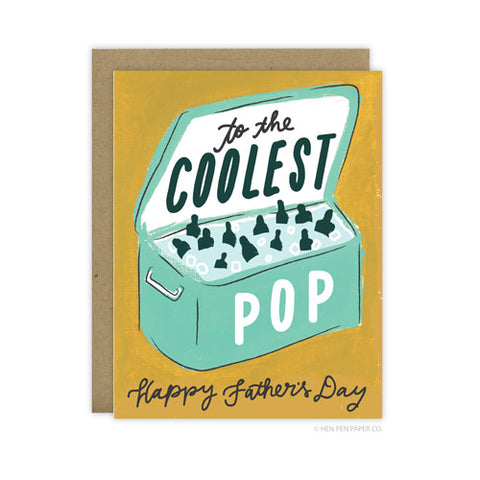 The Coolest Pop Father's Day - [product type] - Hen Pen Paper Co