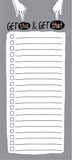 Get This Get That Notepad - [product type] - Hen Pen Paper Co
