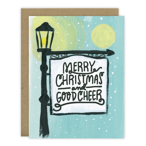 Merry Christmas and Good Cheer - [product type] - Hen Pen Paper Co
