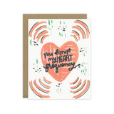 You Disrupt My Heart Frequency Greeting Card - [product type] - Hen Pen Paper Co