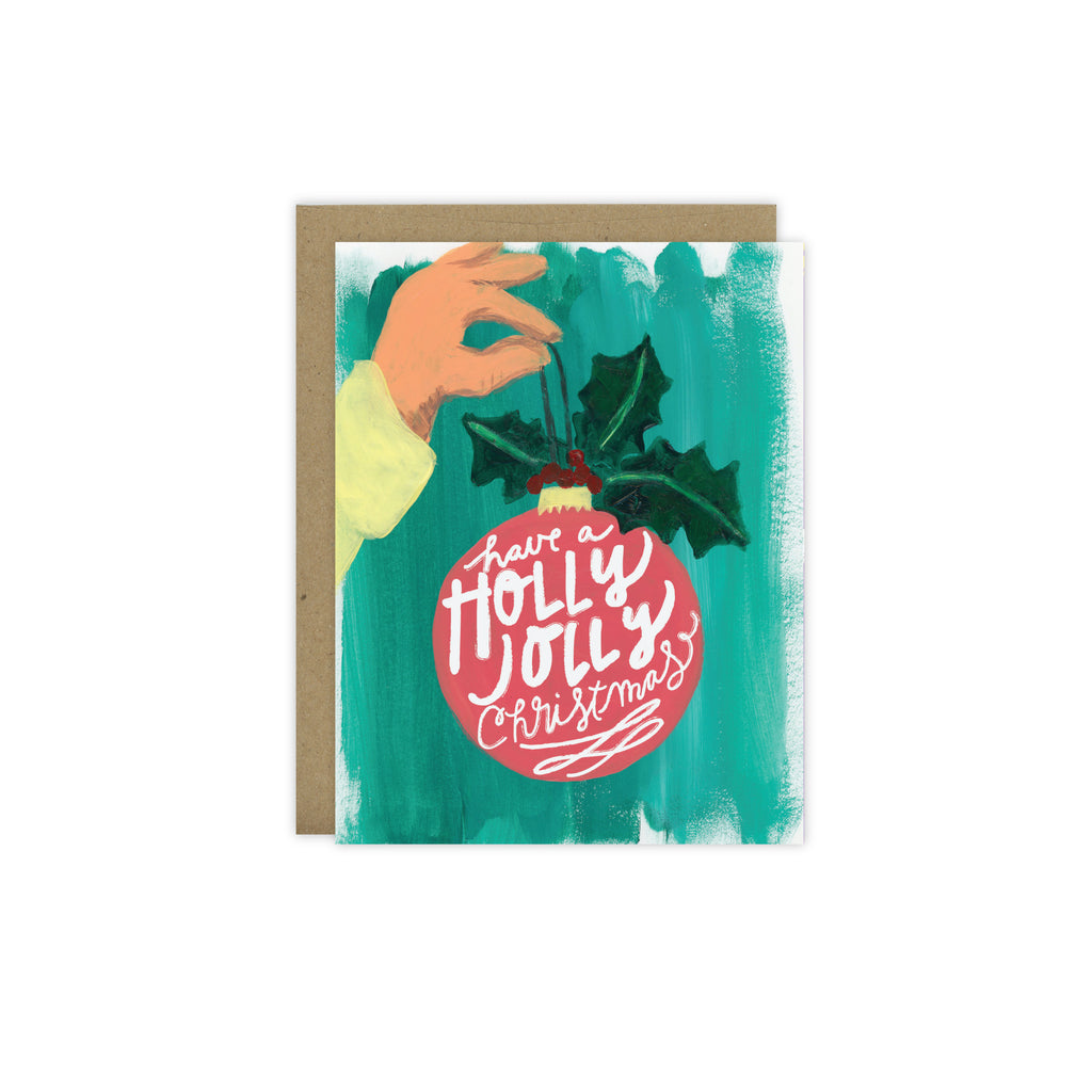 Holly Jolly Christmas - [product type] - Hen Pen Paper Co