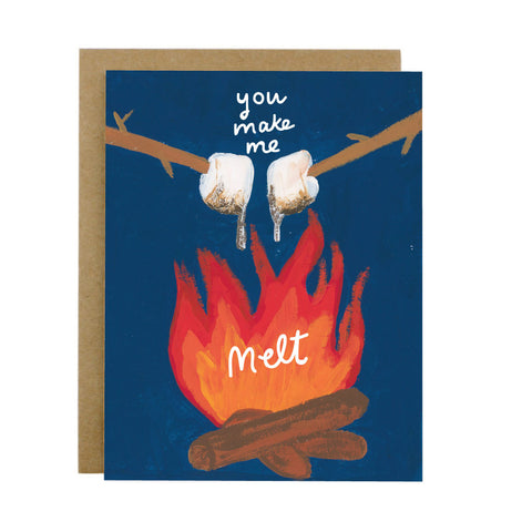 You Make Me Melt Card - [product type] - Hen Pen Paper Co