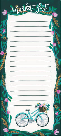 Bicycle Market List Notepad - [product type] - Hen Pen Paper Co