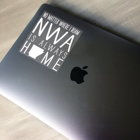 NWA is always home - Car/Laptop Decal - [product type] - Hen Pen Paper Co