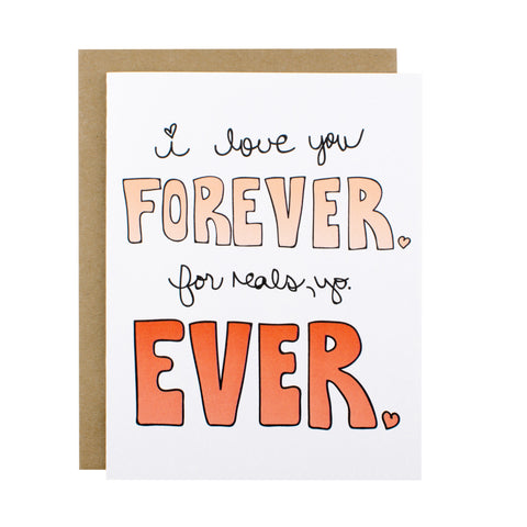 Forever Ever - [product type] - Hen Pen Paper Co