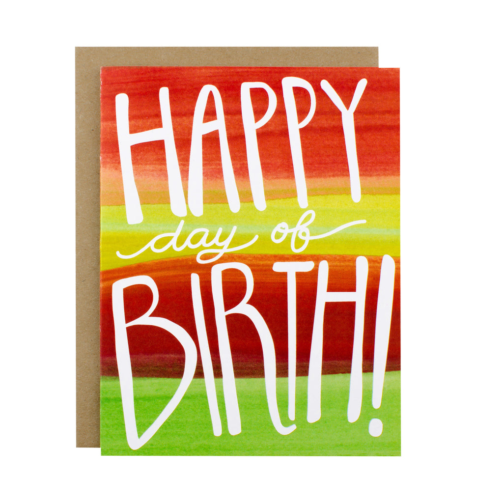 Happy Day of Birth - [product type] - Hen Pen Paper Co