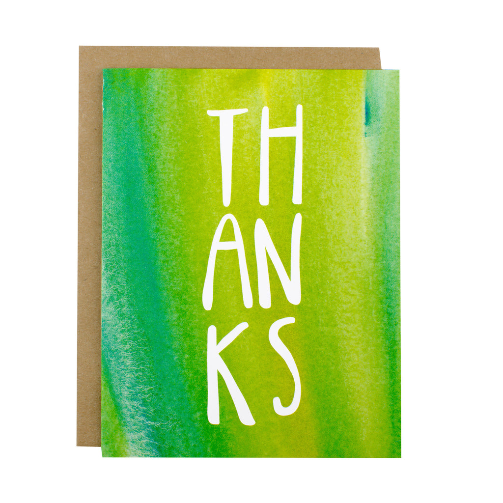Thanks - [product type] - Hen Pen Paper Co