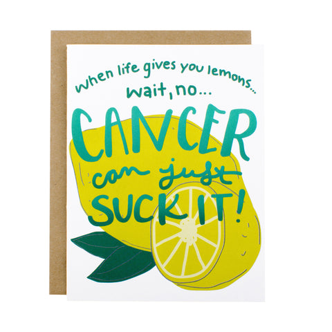 Lemons & Cancer - [product type] - Hen Pen Paper Co