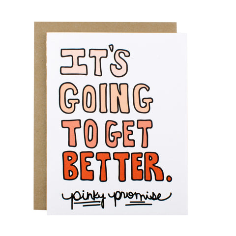 It's Going To Get Better - [product type] - Hen Pen Paper Co
