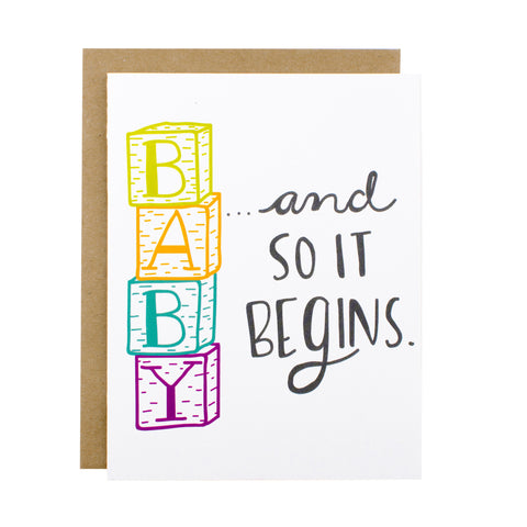 Baby Blocks - Hen Pen Paper Co