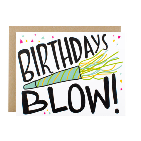 Birthdays Blow - [product type] - Hen Pen Paper Co