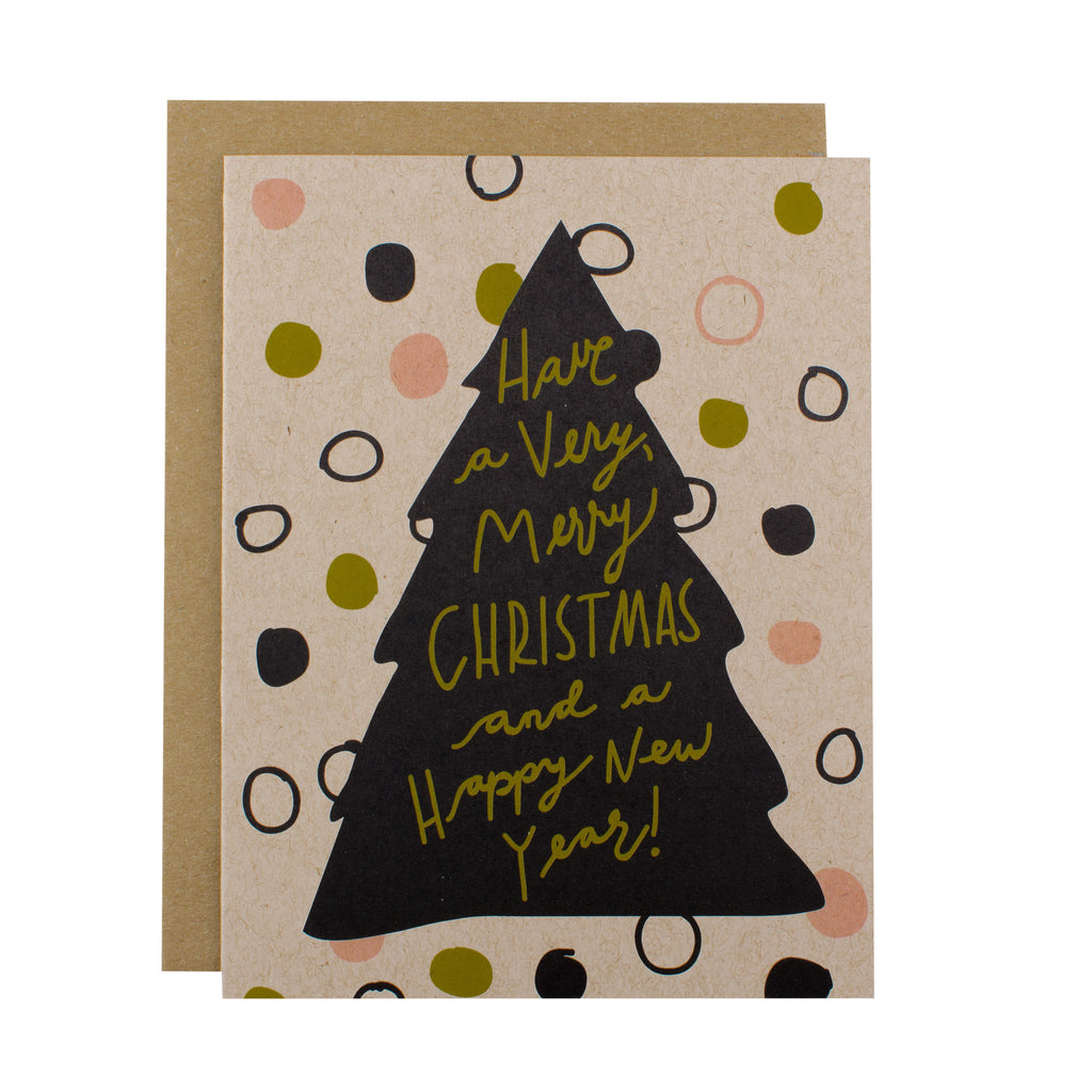 Very Merry Christmas - Hen Pen Paper Co