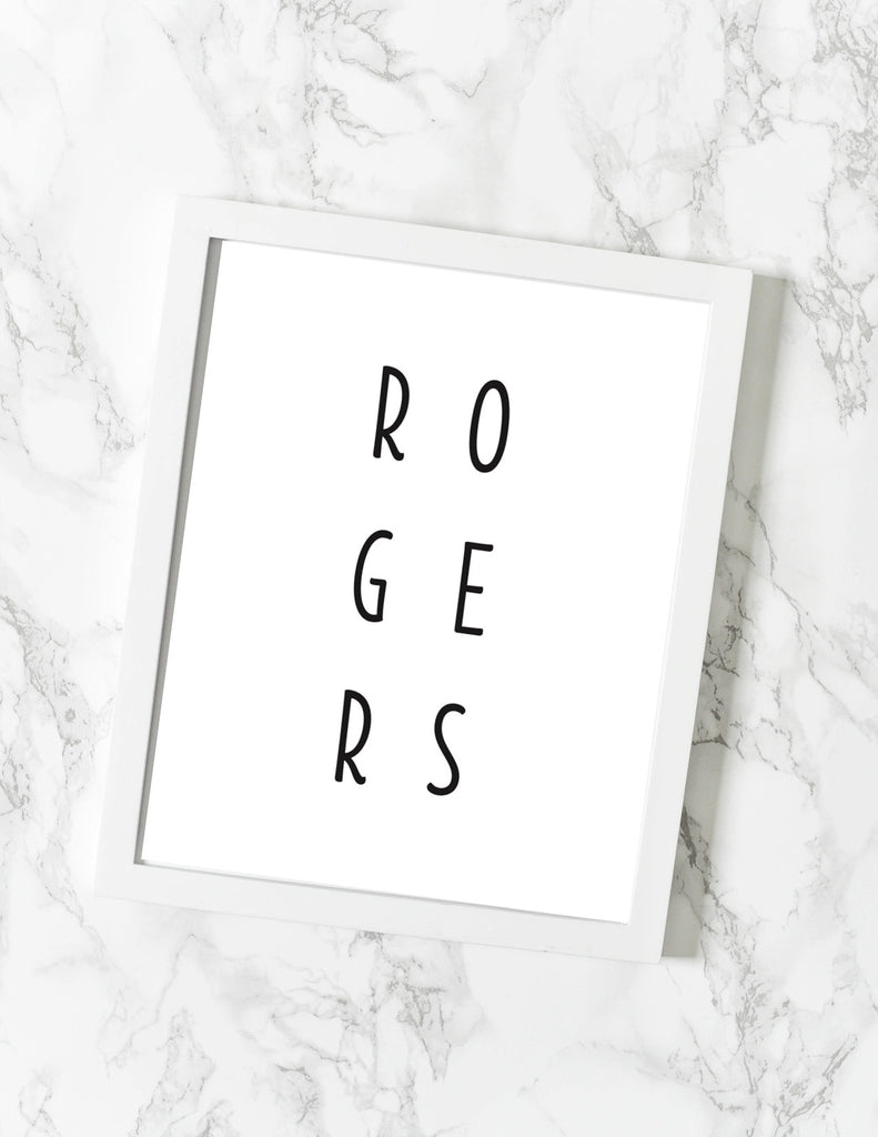 Rogers AR Print - [product type] - Hen Pen Paper Co