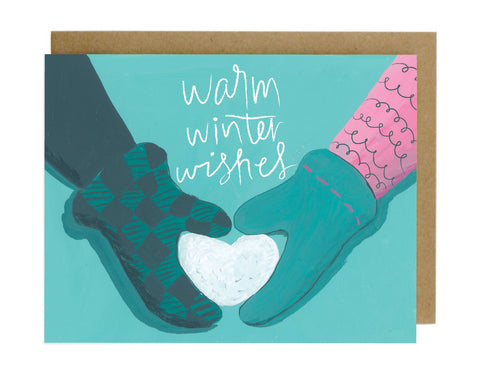 Warm Winter Wishes - [product type] - Hen Pen Paper Co