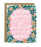 Wine and Shine Holiday - [product type] - Hen Pen Paper Co
