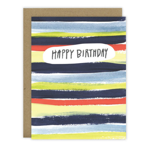 Birthday Stripes - [product type] - Hen Pen Paper Co