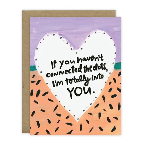 I'm Totally Into You - Greeting Card - [product type] - Hen Pen Paper Co