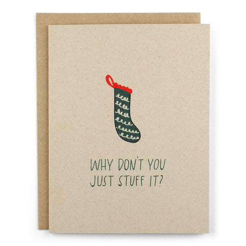 Just Stuff It Card - [product type] - Hen Pen Paper Co