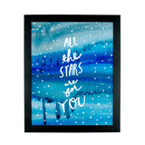 All The Stars Are For You Art Print - [product type] - Hen Pen Paper Co