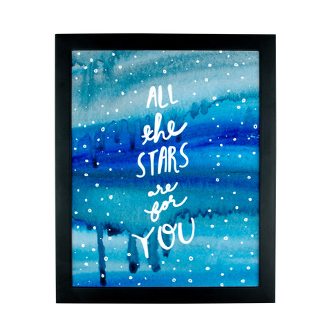 All The Stars Are For You Art Print