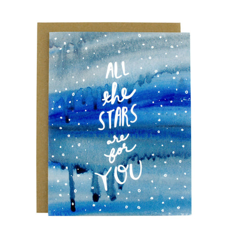 All The Stars Are For You - Hen Pen Paper Co